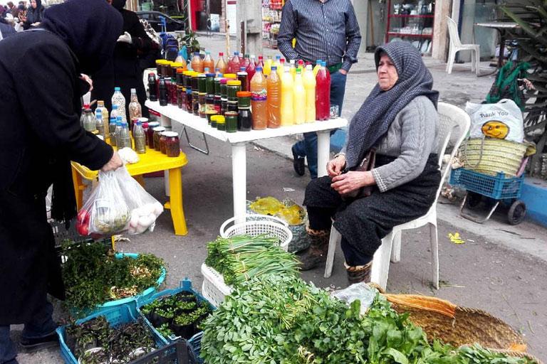 روستاها و بازار های محلی در استان گیلان
