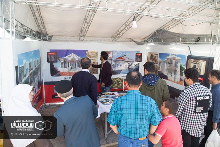 گزارش تصویری شرکت مدرن سازه در منطقه آزاد انزلی