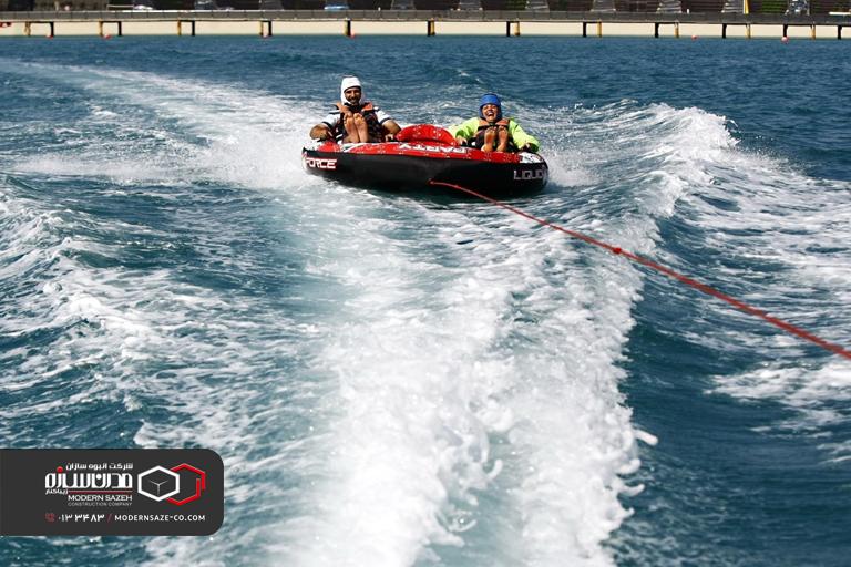 ورزش های آبی در سواحل استان گیلان