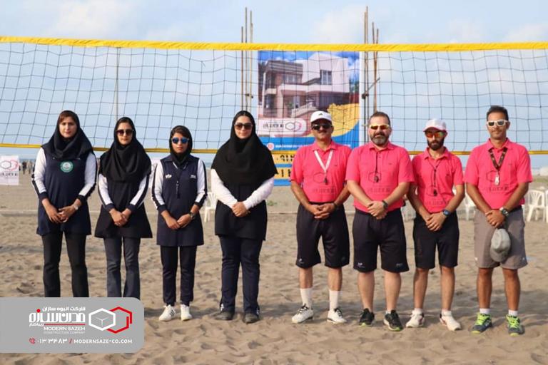 مسابقات والیبال ساحلی قهرمانی جوانان استان گیلان