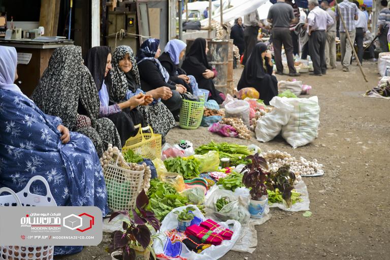 بازار ونقش آن در توسعه گردشگری استان گیلان