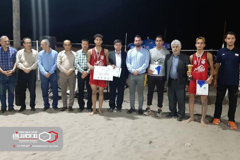 مسابقات والیبال ساحلی امیدهای قهرمانی استان گیلان