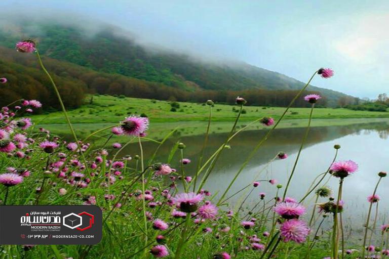 دریاچه ویستان بره سر یکی از مناطق بکر و دیدنی در استان گیلان