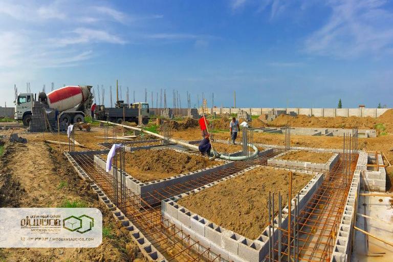روند ساخت و ساز شهرک های ویلایی ساحلی مدرن سازه
