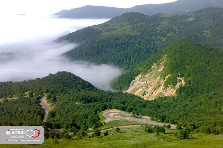 روستای داماش گیلان تجربه ای متفاوت در ارتفاعات رشته کوه البرز