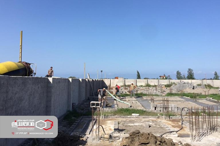 روند ساخت و ساز شهرک های ویلایی ساحلی مدرن سازه (سری اول)
