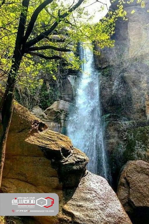 کوه درفک زیباترین قله در سرسبزترین استان کشور