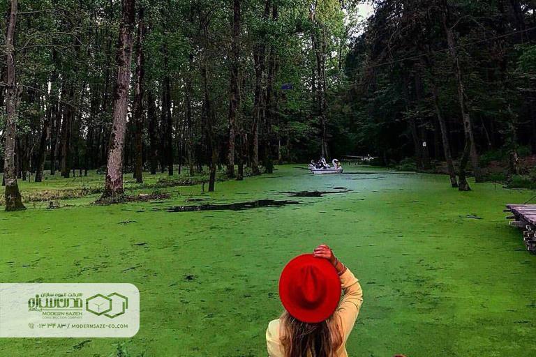 پارک جنگلی سراوان بهشت زمینی در دل جنگلهای گیلان