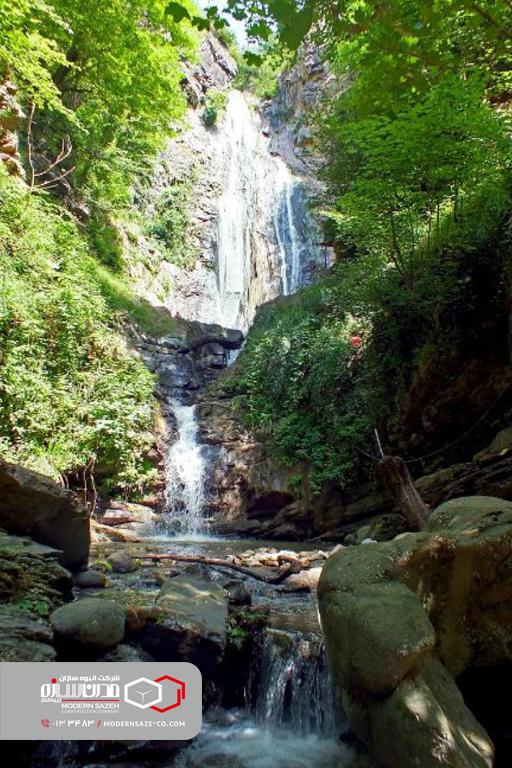 پارک جنگلی سفید آب محیطی امن برای آرامش و تفریح