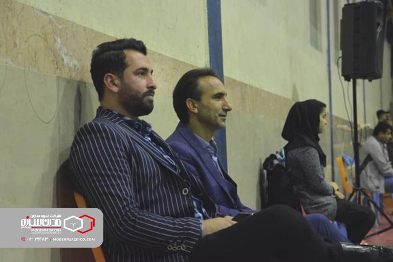 گزارش تصویری از مسابقات والیبال تیم مدرن سازه بندر کیاشهر