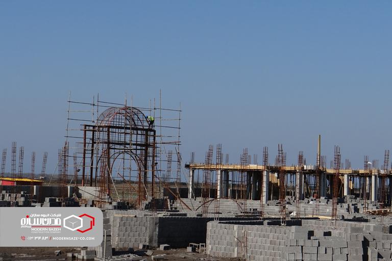 روند ساخت و ساز شهرک های ویلایی ساحلی مدرن سازه (سری سوم)