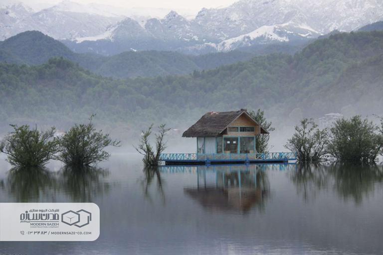 تالاب استیل آستارا زیباترین دریاچه آب شیرین در ایران
