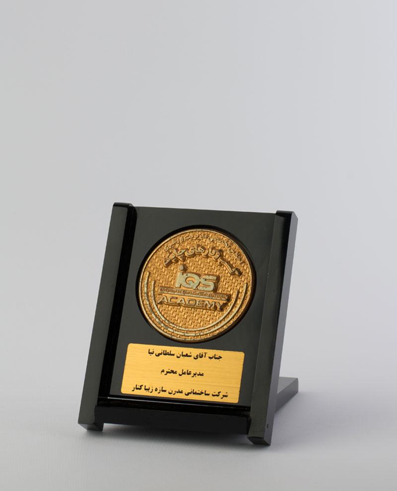تندیس تخصصی بهترین مدیریت و رهبری کسب و کارهای چابک