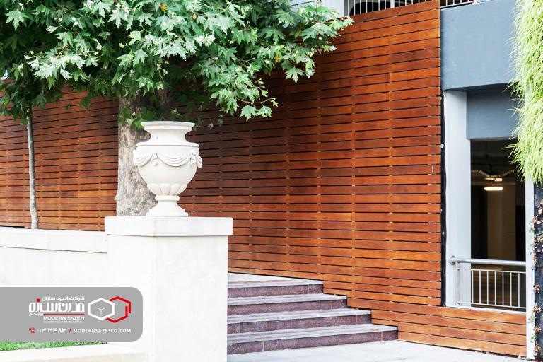استفاده از سازه های چوبی ترمو وود برای ساخت ویلا