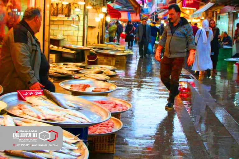 بازار بزرگ رشت اصلیترین جاذبه گردشگری گیلان