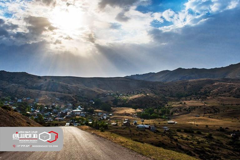 روستای شاه شهیدان رودبار خوش آب و هواترین روستا در گیلان