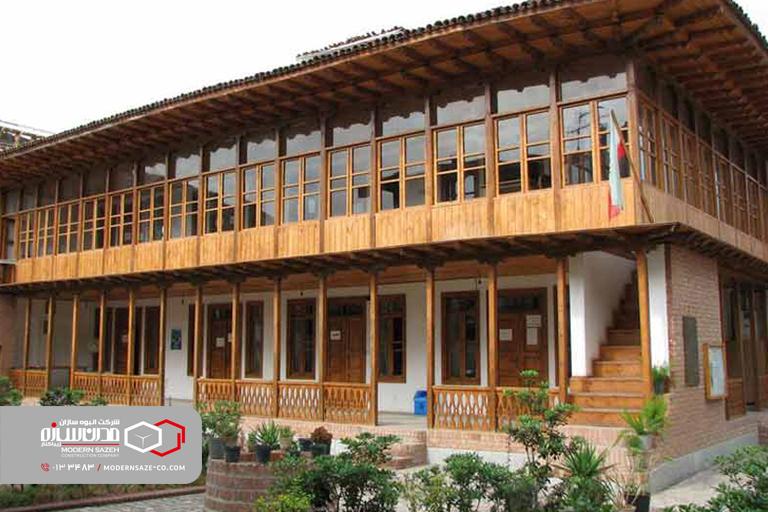 خانه میرزا کوچک خان جنگلی در رشت