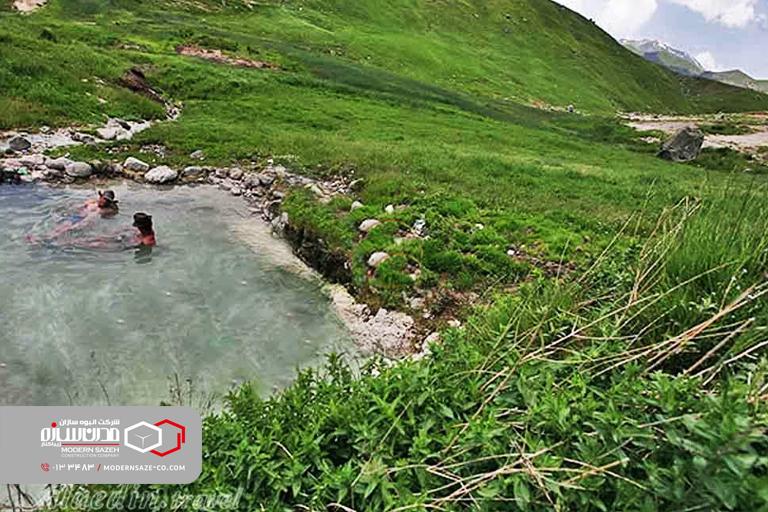 چشمه آب گرم کوته کومه آستارا