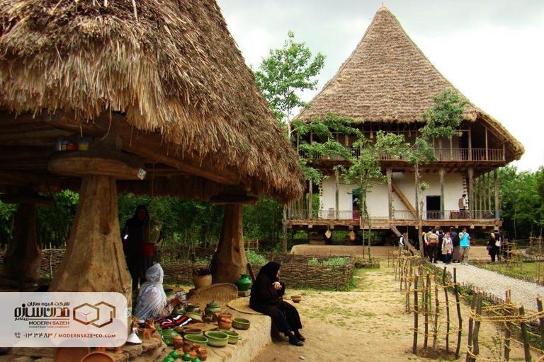 موزه میراث روستایی گیلان از جاذبه های تاریخی فرهنگی استان گیلان