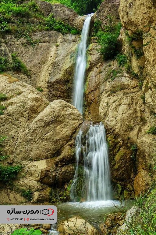آبشار اشکلیت ماسوله در استان گیلان