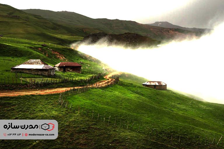 سوباتان تالش ییلاق زیبای استان گیلان