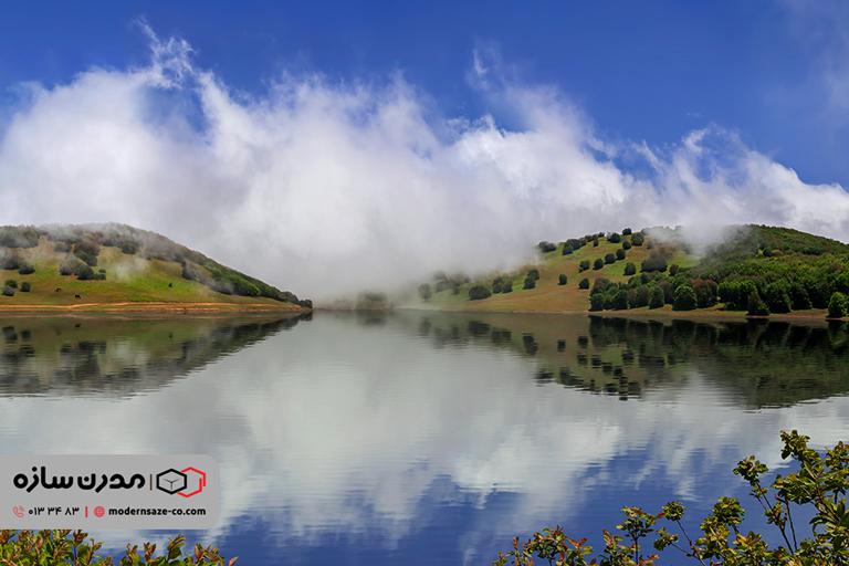 دریاچه سوها یکی از زیباترین جاذبه های ایران